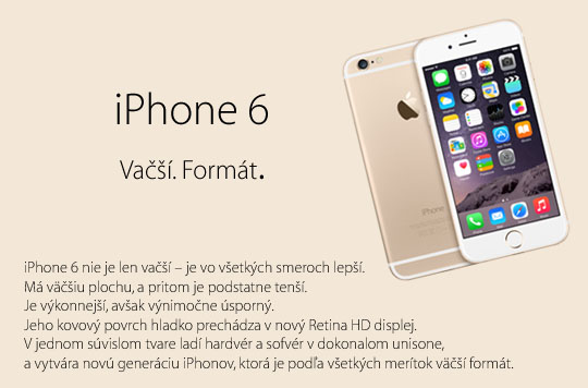 Apple iPhone 6 Gold 64GB (MG652LL/A) (EU)