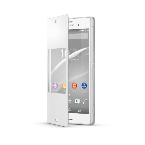 SCR24 Sony Smart Cover White pre D6603 Xperia Z3 (EU Blister)