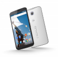 Motorola XT1100 Nexus 6, 32 GB LTE Light Gray / Cloud White (EU)