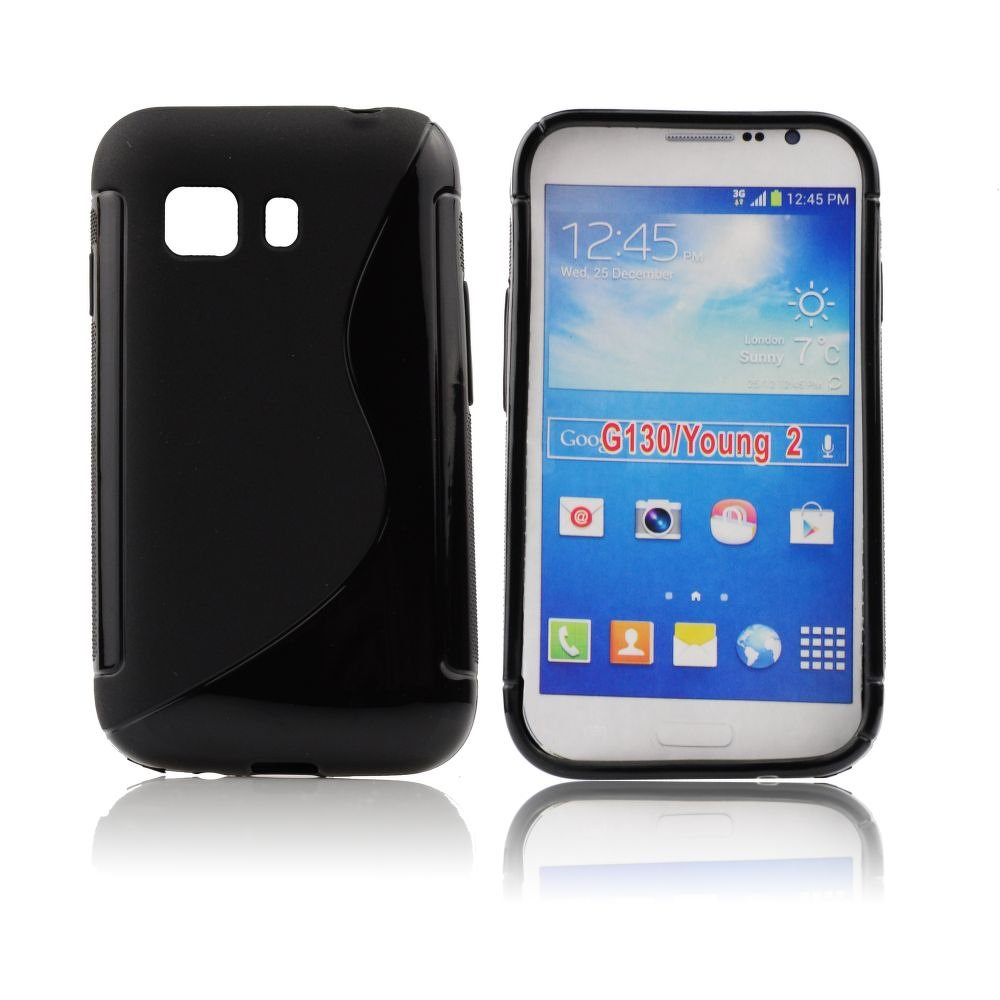ForCell zadný kryt Lux S Black pre Samsung G130 Galaxy Young2