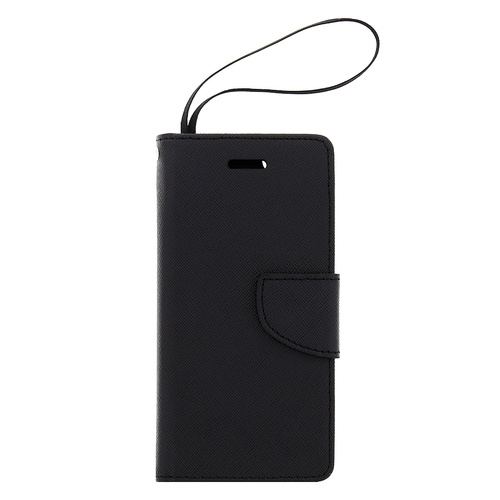 Fancy Diary Book puzdro Black pre iPhone 6/6S
