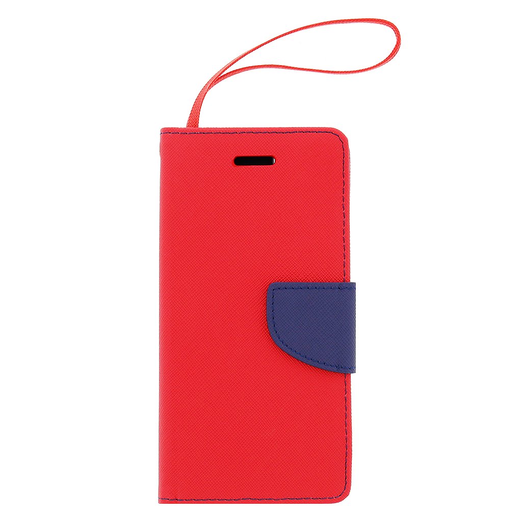 Fancy Diary Book puzdro Red/Navy pre iPhone 6/6S