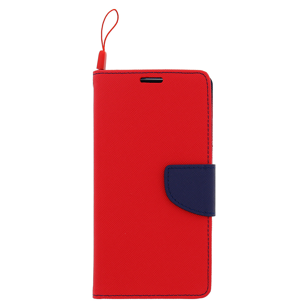 Fancy Diary Book puzdro Red/Navy pre Huawei P8 Lite