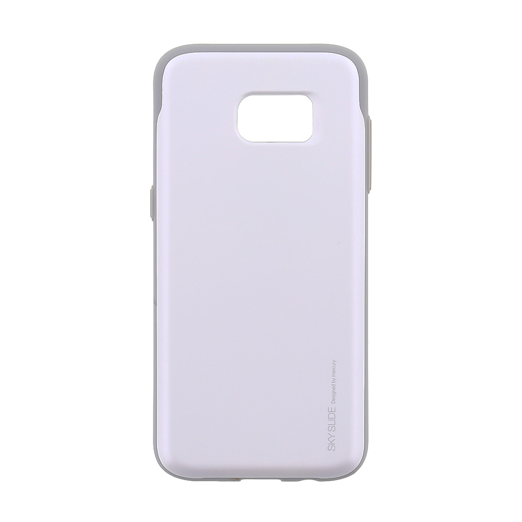 Mercury Sky Slide Bumper Case puzdro pre Samsung G935 Galaxy S7 Edge White/Grey