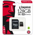 microSDXC 128GB Kingston G2 Class 10 w/a (EU Blister)