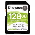 SDXC 128GB Kingston Canvas Select (EU Blister)