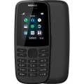 Nokia 105 (2019) Single SIM (TA-1203) Black